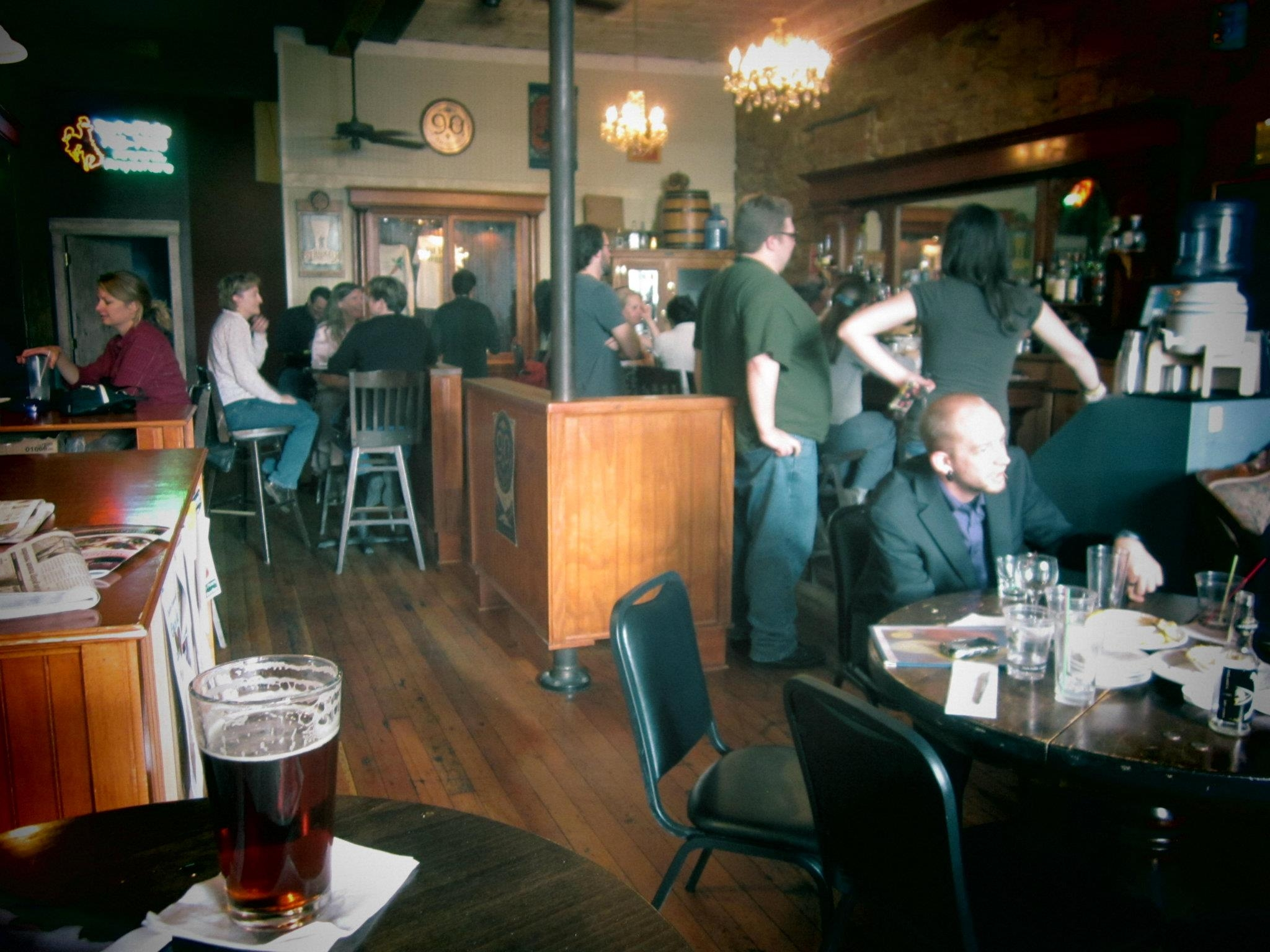 A Week in Laramie:  The Front Street Tavern